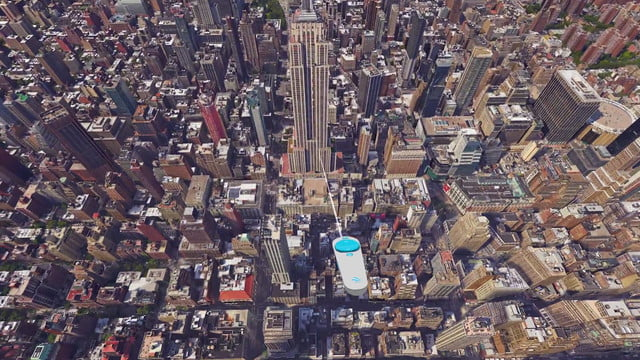 google earth vr announced htc vive support first nyc