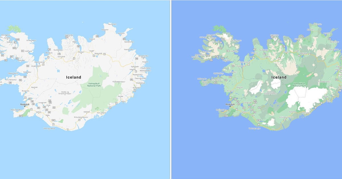 See how Google Maps is using color to add even more detail
