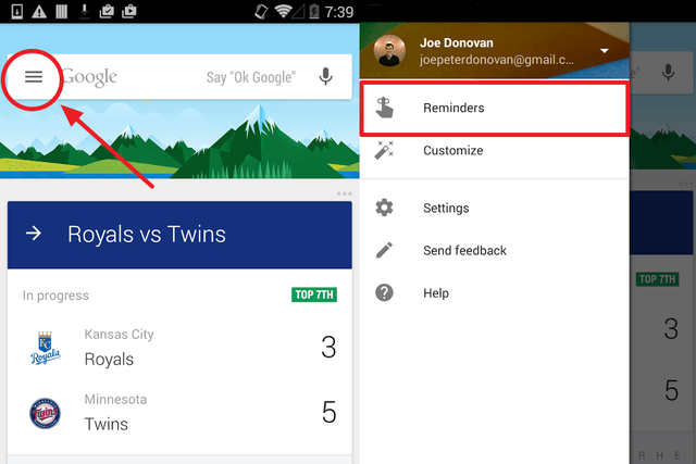 how to set reminders with google now gallery 3