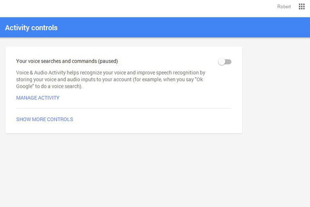 opt out delete google voice search history now 09a