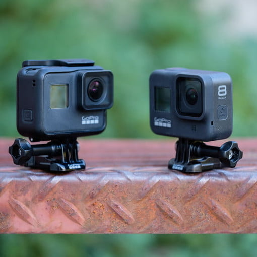Gopro Hero8 Black Vs Gopro Hero7 Black Worth The Upgrade Digital Trends