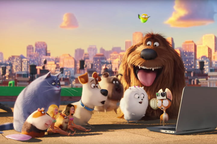 weekend box office finding dory secret life of pets gopro 2