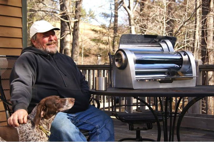 the gosun grill is a portable solar cooker