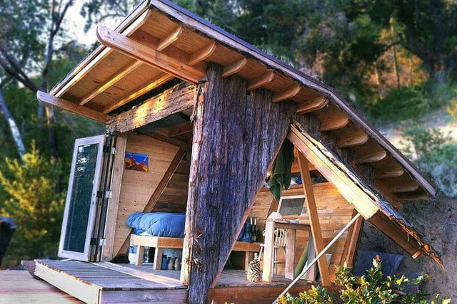 retreat from society and relax in these idyllic cabins around the world hawk house 4