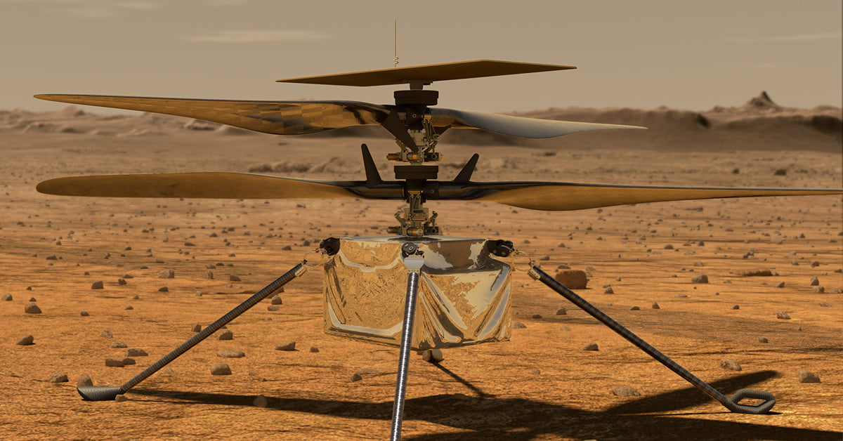 Meet Ingenuity: The high-tech helicopter designed to fly on Mars