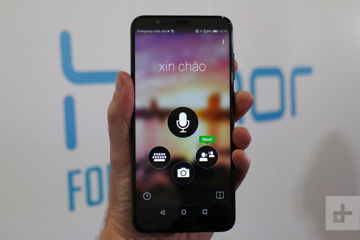 Huawei Honor View 10 review translate