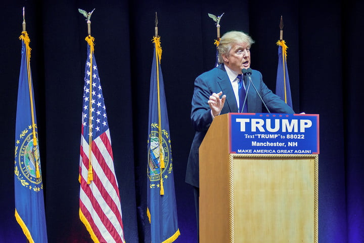 how to follow the primary online trump