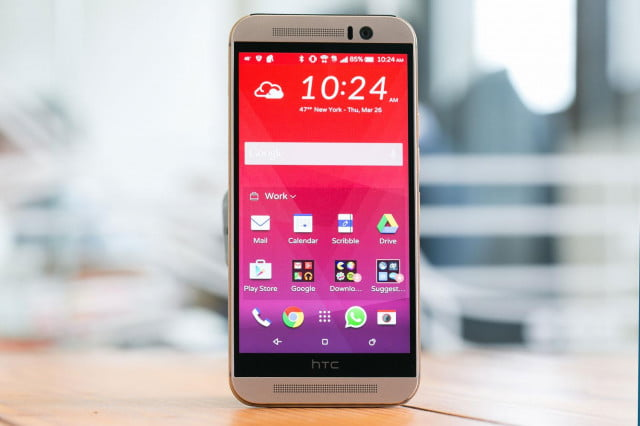 HTC One M9 home