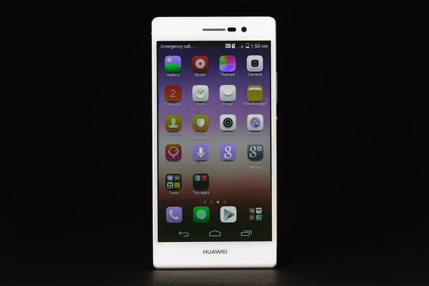 Huawei Ascend P7 review front