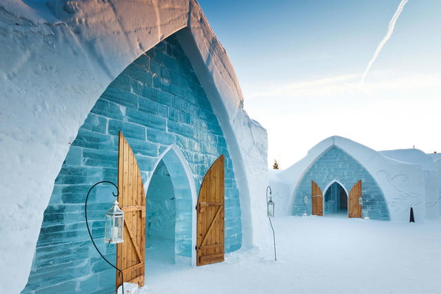 unsual unique hotels icehotel