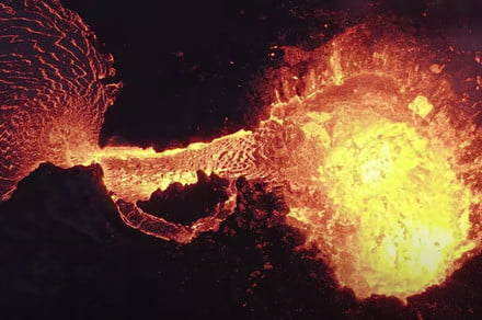 Watch This Breathtaking Drone Video of a Volcano Eruption 10