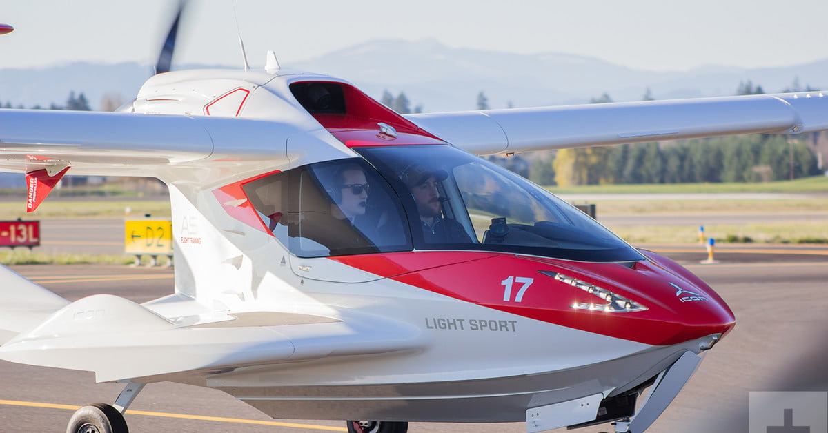 ICON A5 AIRCRAFT cover image