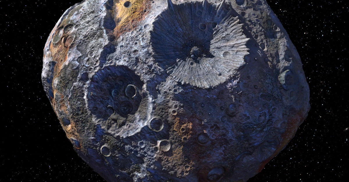 Funky asteroid Psyche is made almost completely of metal