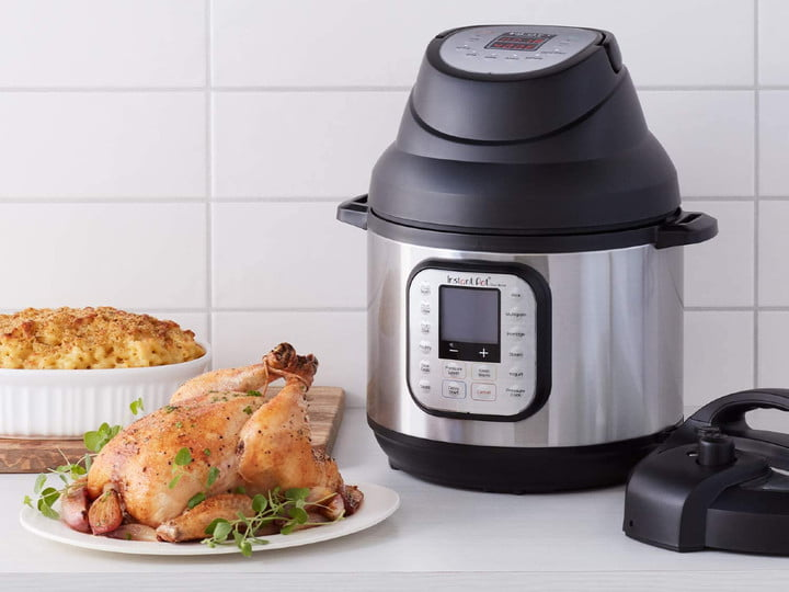Instant Pot w/ Air Fryer lid
