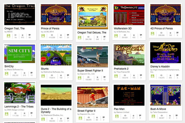 embed msdos games twitter internet archive ms dos