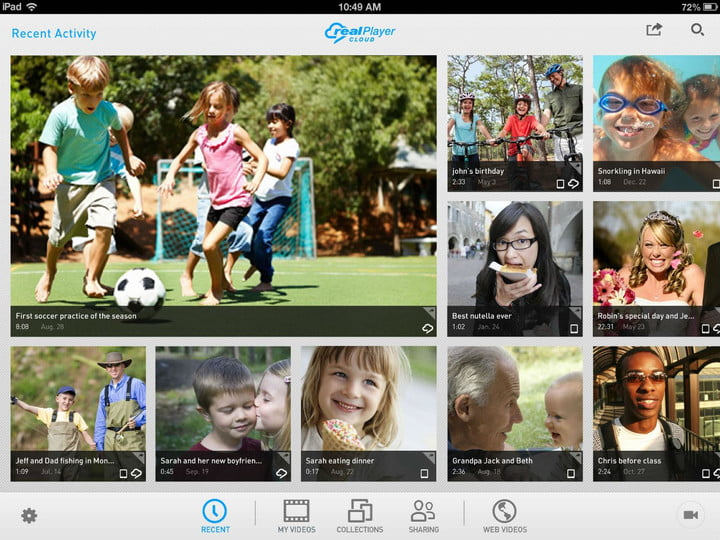 realplayer cloud release ipad rpc screenshot landscape edited