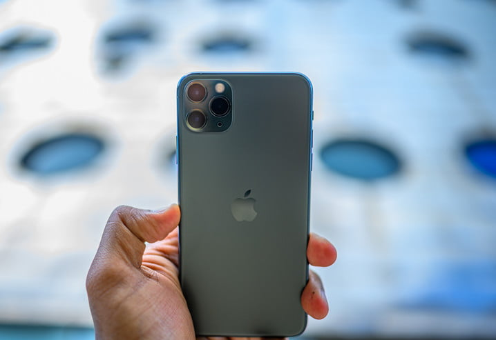 iPhone 11 Pro Max rear