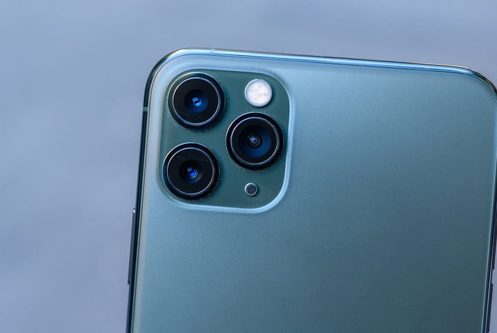 iPhone 11 Pro Max rear triple camera