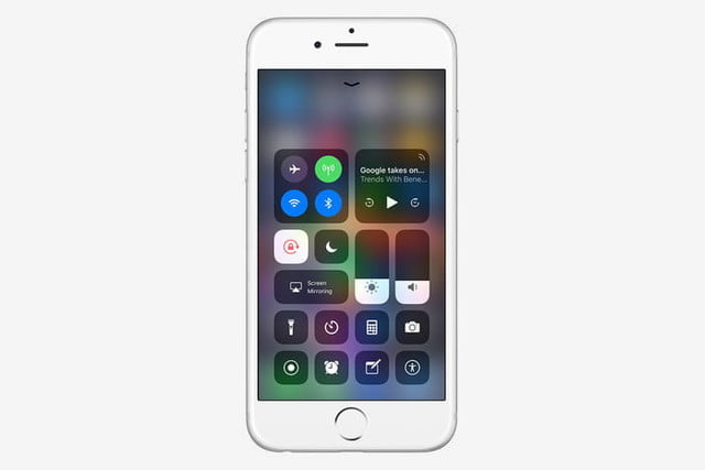iphone 7 tips and tricks control center