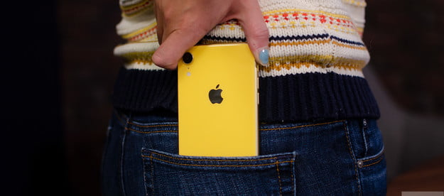 iphone xr pocket