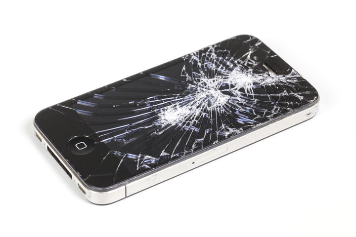 apple active screen protection patent iphone cracked shutterstock 241812175