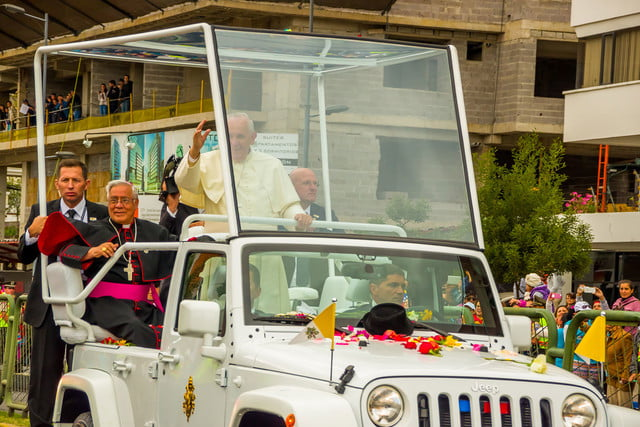 10 sweet popemobiles that will make you wish held the keys of heaven jeep wrangler  2015