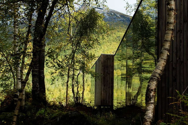 retreat from society and relax in these idyllic cabins around the world juvet landscape hotel 2