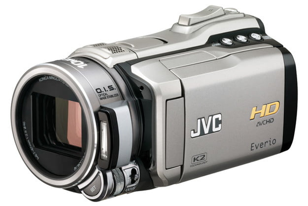 jvc hd everio gz hm1 review camcorder