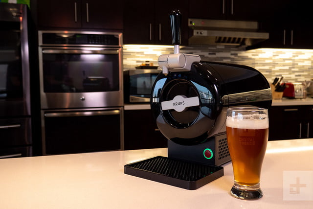 krups sub home beer dispenser with beer