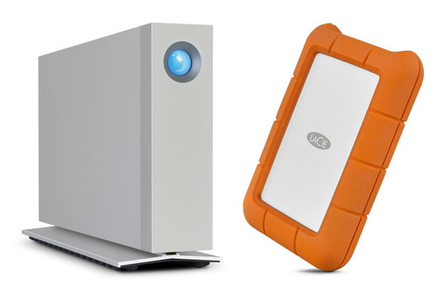 lacie rugged d2 thunderbolt 3 storage header