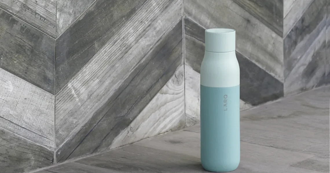 The Larq reusable water bottle made me realize how much money I've wasted