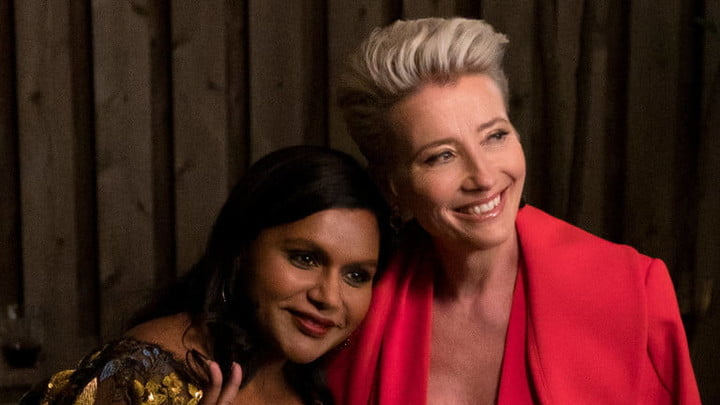 Mindy Kaling and Emma Thompson in Late Night