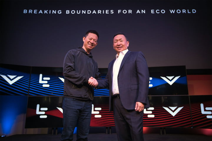 LeEco Vizio announcement