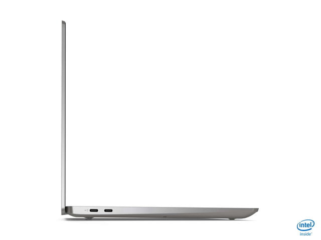 lenovo takes on xps 13 with ideapad s540 13inch side profile intel silver