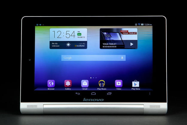 lenovo yoga tablet 10 review tablets home screen