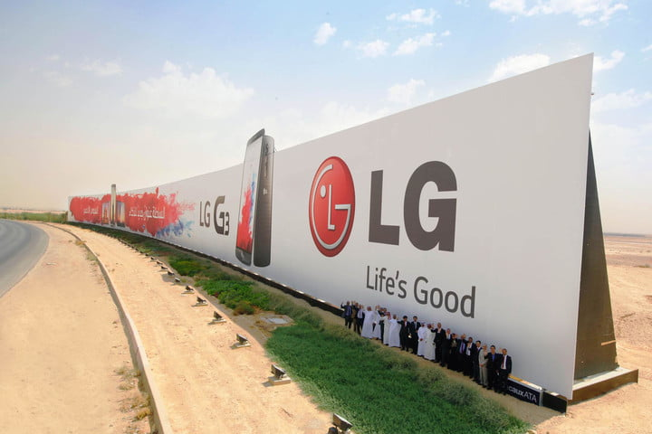 lg guinness world record largest outdoor advertisement g3 ad