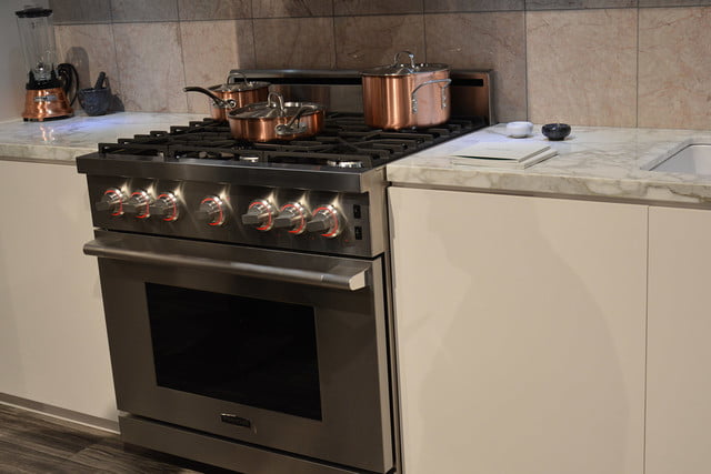 signature is a luxury smart appliance brand from lg kitchen suite gas range 0372