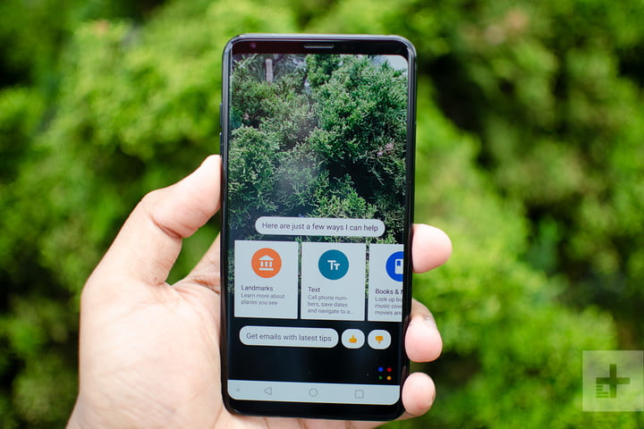 lg v35 thinq assistant