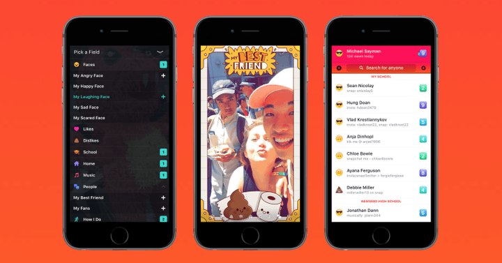 facebook introduces lifestage app compete snapchat lifestage1