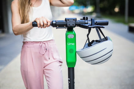 Lime makes it even easier to ride one of its electric scooters