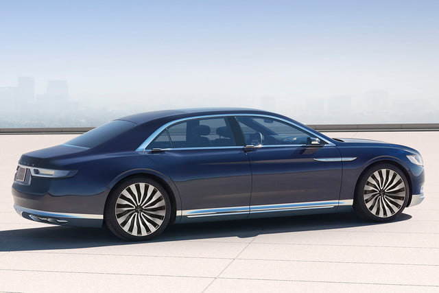 top 5 concept cars of 2015 opinion pictures specs lincolncontinentalconcept 03 rear