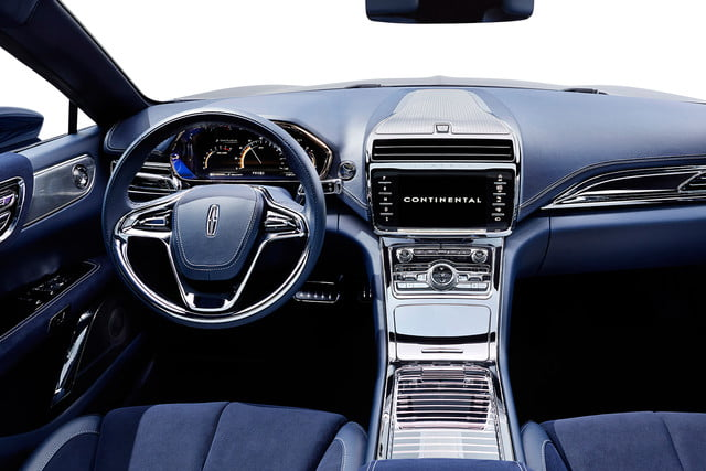 top 5 concept cars of 2015 opinion pictures specs lincolncontinentalconcept 07 interior a