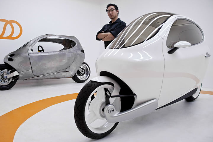 Lit Motors C-1 with Founder and CEO Daniel Kim