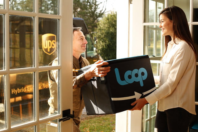loop sustainable packaging delivery company tote4