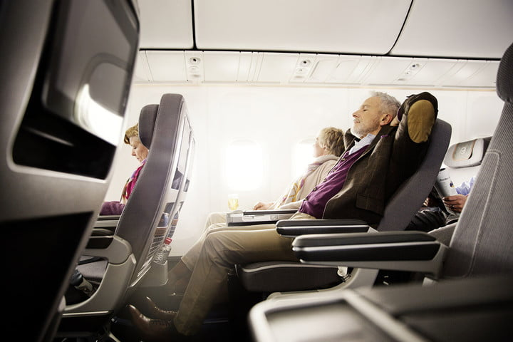 lufthansas wacky airbnb listing offers a plane seat in shared room lufthansa premium economy class