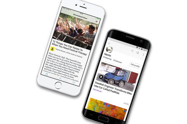 lumi news is like tinder meets flipboard and we love it ios android rgb