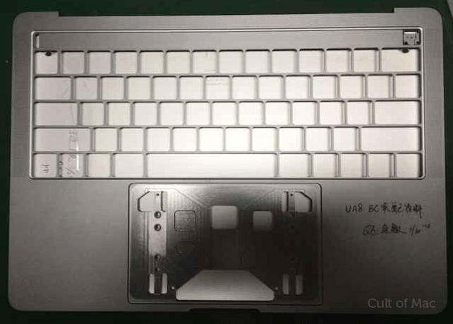 is this the new macbook pro oled touch bar