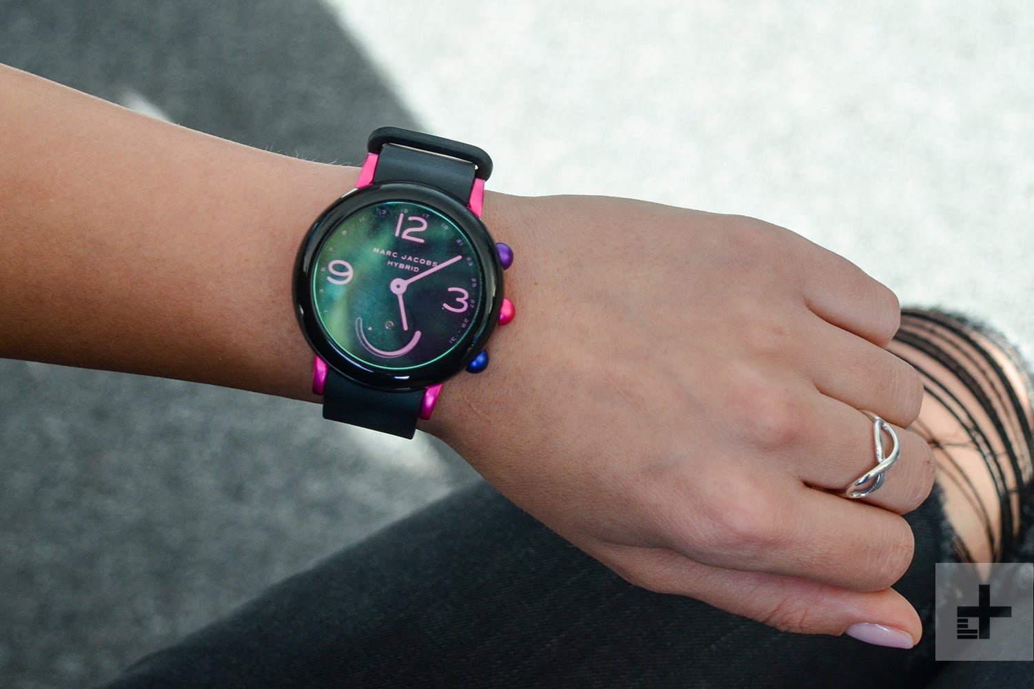 Marc Jacobs Riley Hybrid Smartwatch Review Digital Trends