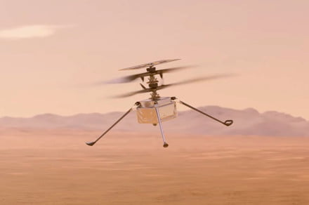 Watch NASA's movie-like trailer for its upcoming Mars helicopter flight
