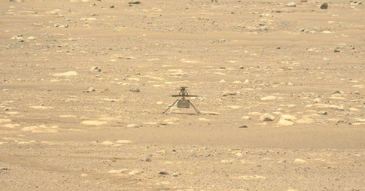 How NASA engineers are fixing the issue grounding Mars helicopter Ingenuity